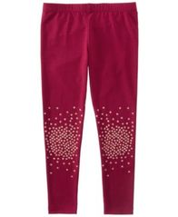 Image of Epic Threads Mix and Match Glitter Knee Leggings, Little Girls, Created for Macy's