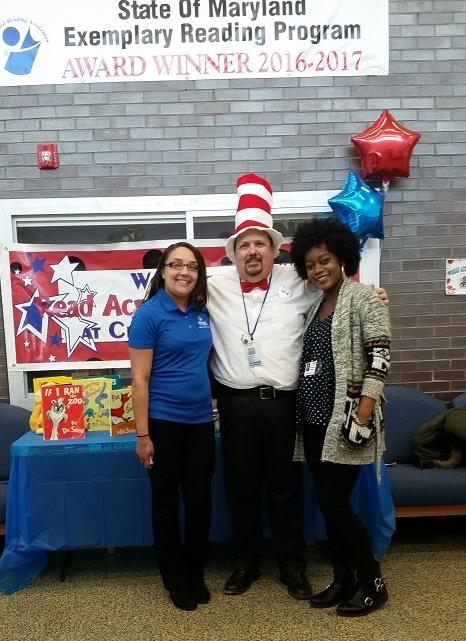 Melody Alston - Melody Alston Agency Volunteers with Read Across America