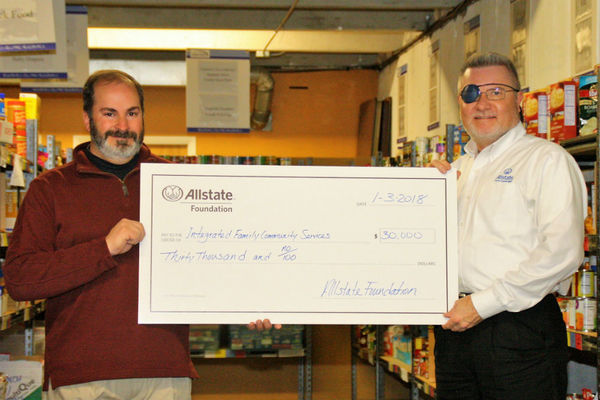Brian Dee Counterman - Allstate Foundation Helping Hands Grant for Integrated Family Community Services
