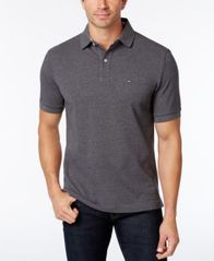 Image of Tommy Hilfiger Men's Custom-Fit Ivy Polo, Created for Macy's