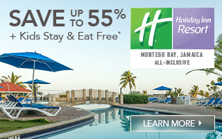 Holiday Inn Montego Bay Save up to 55% + Kids Stay & Eat Free*