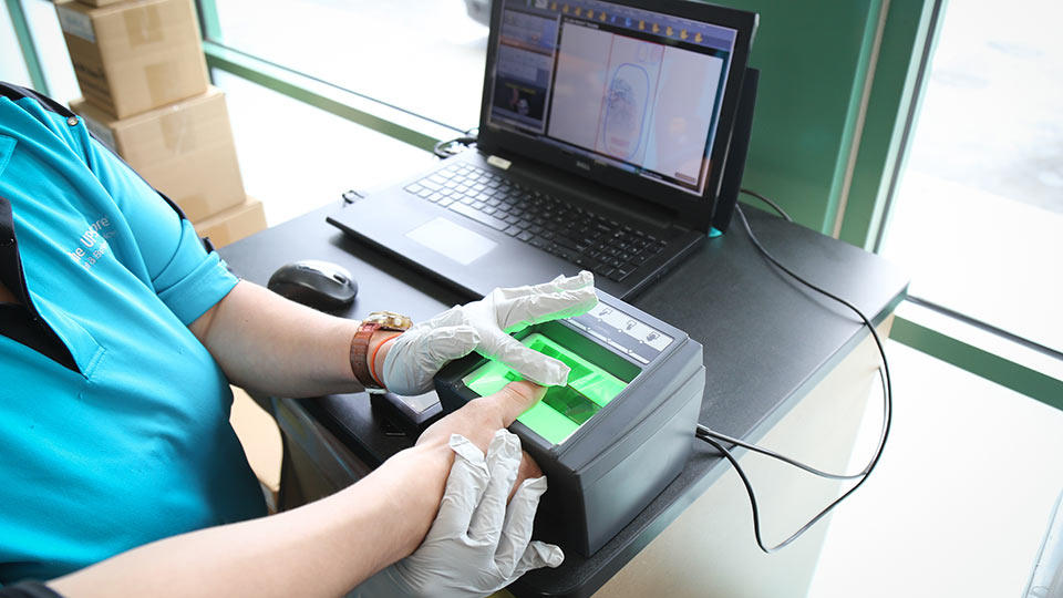 Live Scan And Ink Fingerprinting Fast Secure Convenient