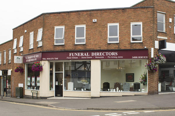 W Heighton & Son Funeral Directors in Oadby, Leicester