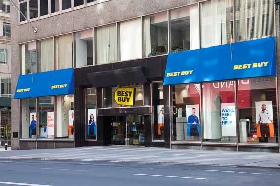 Best Buy Midtown Manhattan 44th And 5th In New York New York