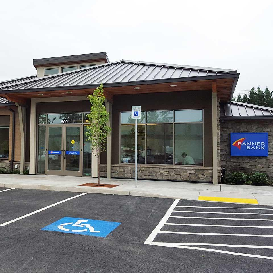 Banner Bank Salmon Creek branch in Vancouver, Washington