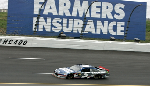 Farmers at Kansas Speedway