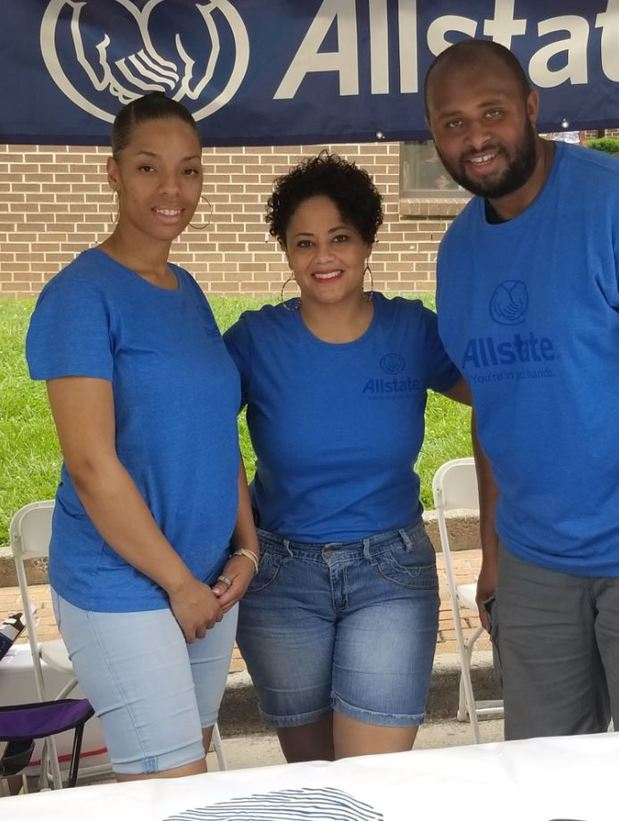 Denni Cravins - Cravins Allstate Agency Participated in Local Festival