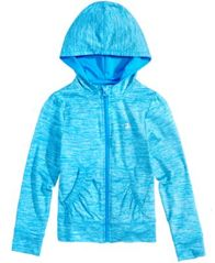 Image of Champion Hooded Zip-Up Sweatshirt, Toddler Girls (2T-5T)