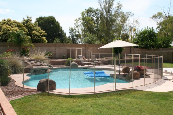 Image of Pool Guard Removable Pool Safety Fence