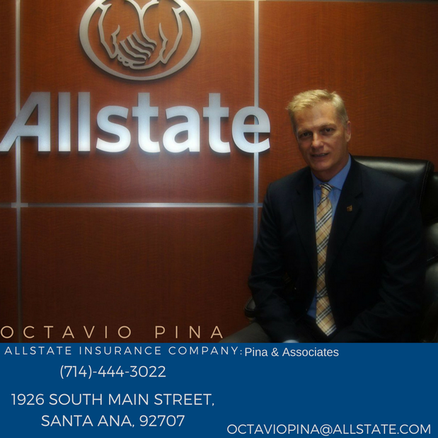 Allstate Insurance Quote: Car Insurance In Brea, CA - Octavio R.E. Pina