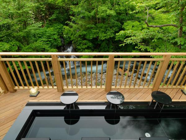 Deck terrace & footbath