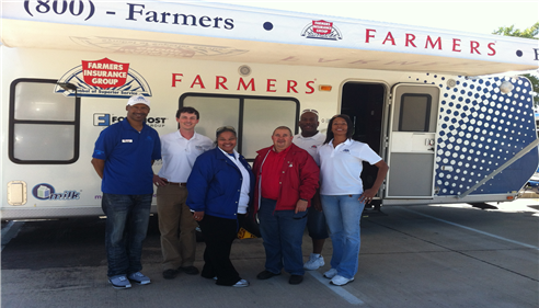 Lancaster Tornado with Farmers® Claim Team.