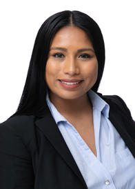 A headshot of Goosehead agent Maria Gallo Blanco