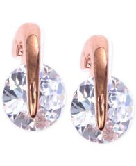 Image of Givenchy Rose Gold-Tone Prong Stud Earrings