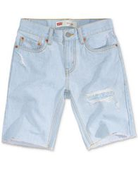 Image of Levi's® Big Boys 511 Distressed Slim Denim Shorts
