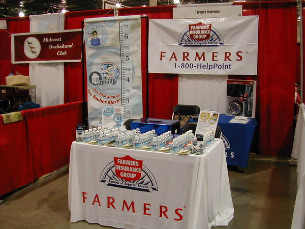 Farmers® Booth