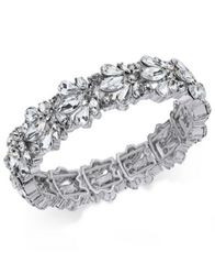 Image of Charter Club Crystal Stone Stretch Bracelet, Created for Macy's