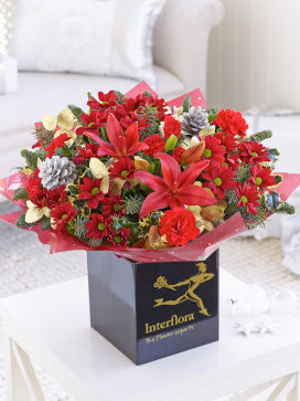 Image of Christmas Cracker Hand-tied