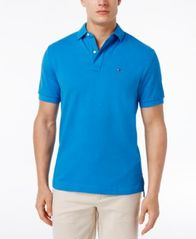 Image of Tommy Hilfiger Men's Classic-Fit Ivy Polo
