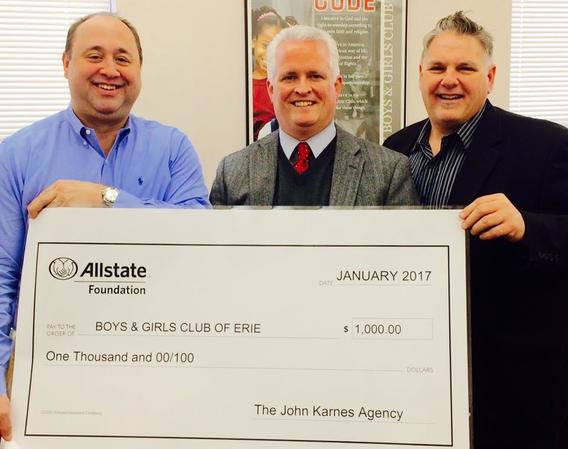 John Karnes - Allstate Foundation Grant