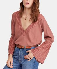 Image of Free People Parisian Nights Top