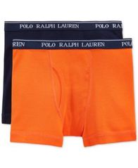 Image of Polo Ralph Lauren 2-Pk. Boxer Briefs, Little Boys (4-7) & Big Boys (8-20)