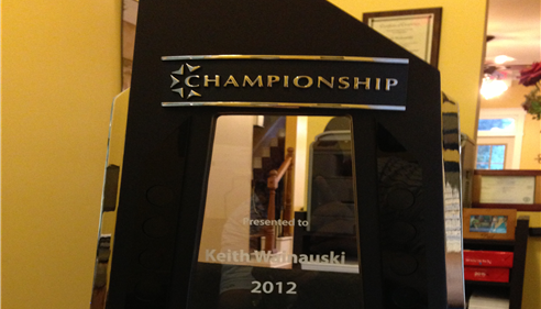 Our Agency was honored to be selected as a Championship agent for 2013.