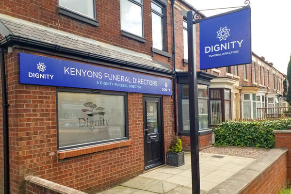 Kenyons Funeral Directors in Chorley, Lancashire.