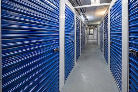 Columbus Ave storage facility interior