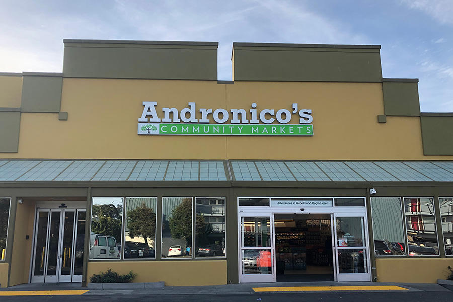 Andronico's Community Markets Store Front Picture at 1200 Irving