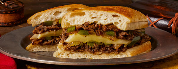 Earl of Sandwich LTO Philly Cheesesteak