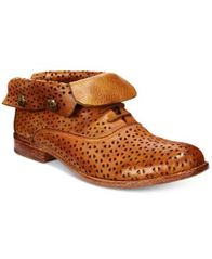 Image of Patricia Nash Sabrina Perforated Ankle Booties