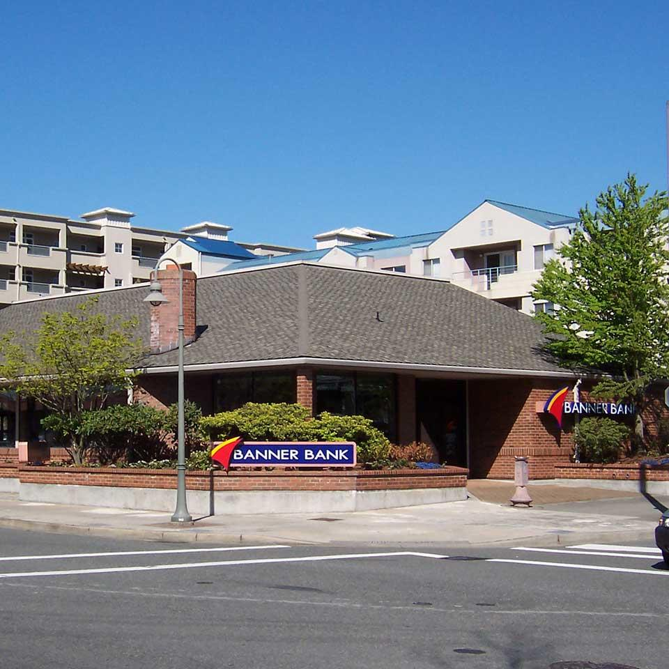 Banner Bank branch in Mercer Island, Washington