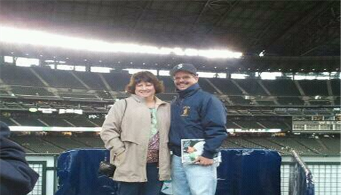 At the Seattle Mariners Game