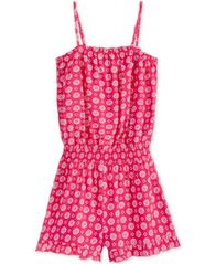 Image of Epic Threads Diamond-Print Romper, Big Girls (7-16), Created for Macy's