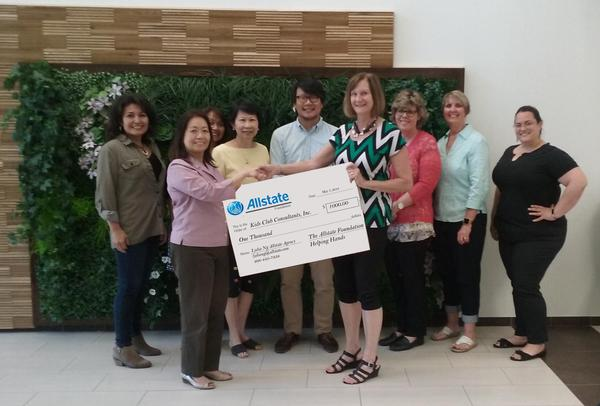 Lydia Ng - Allstate Foundation Helping Hands Grant for Kids Club Consultants