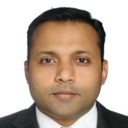 MR. DIJISH K DAMODARAN's headshot