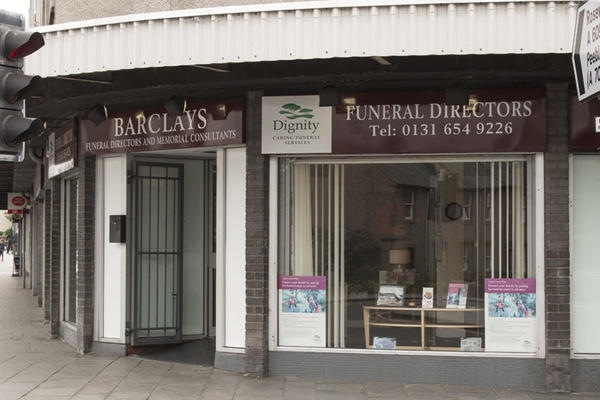 Barclays Funeral Directors in Bonnyrigg, Edinburgh