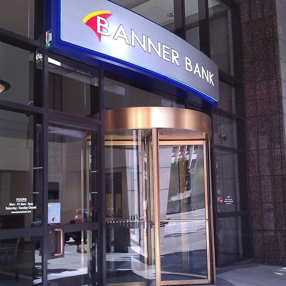 Banner Bank branch in downtown Seattle, Washington