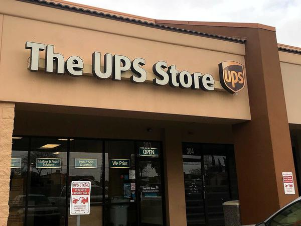 Facade of The UPS Store El Paso