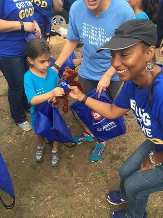 Althea N. Johnson - Walk for Wishes - Disaster Prep Event Picture
