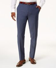 Image of Bar III Men's Slim-Fit Active Stretch Suit Pants, Created for Macy's