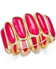 Image of Charter Club Gold-Tone Colored Shell Bracelet, Created for Macy's