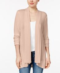 Image of Style & Co Draped High-Low Cardigan, Created for Macy's