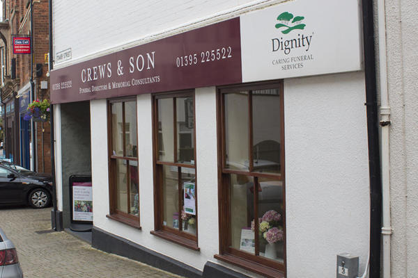 Crews & Son Funeral Directors in Tower Street, Exmouth