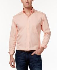 Image of Club Room Estate Classic-Fit Wrinkle Resistant Dress Shirt, Created for Macy's