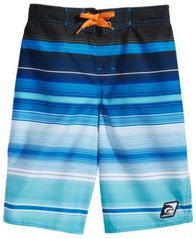 Image of Laguna Endless Summer Striped Swim Trunks, Big Boys