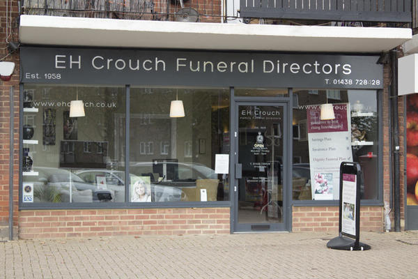 E H Crouch Funeral Directors in Stevenage, Hertfordshire.