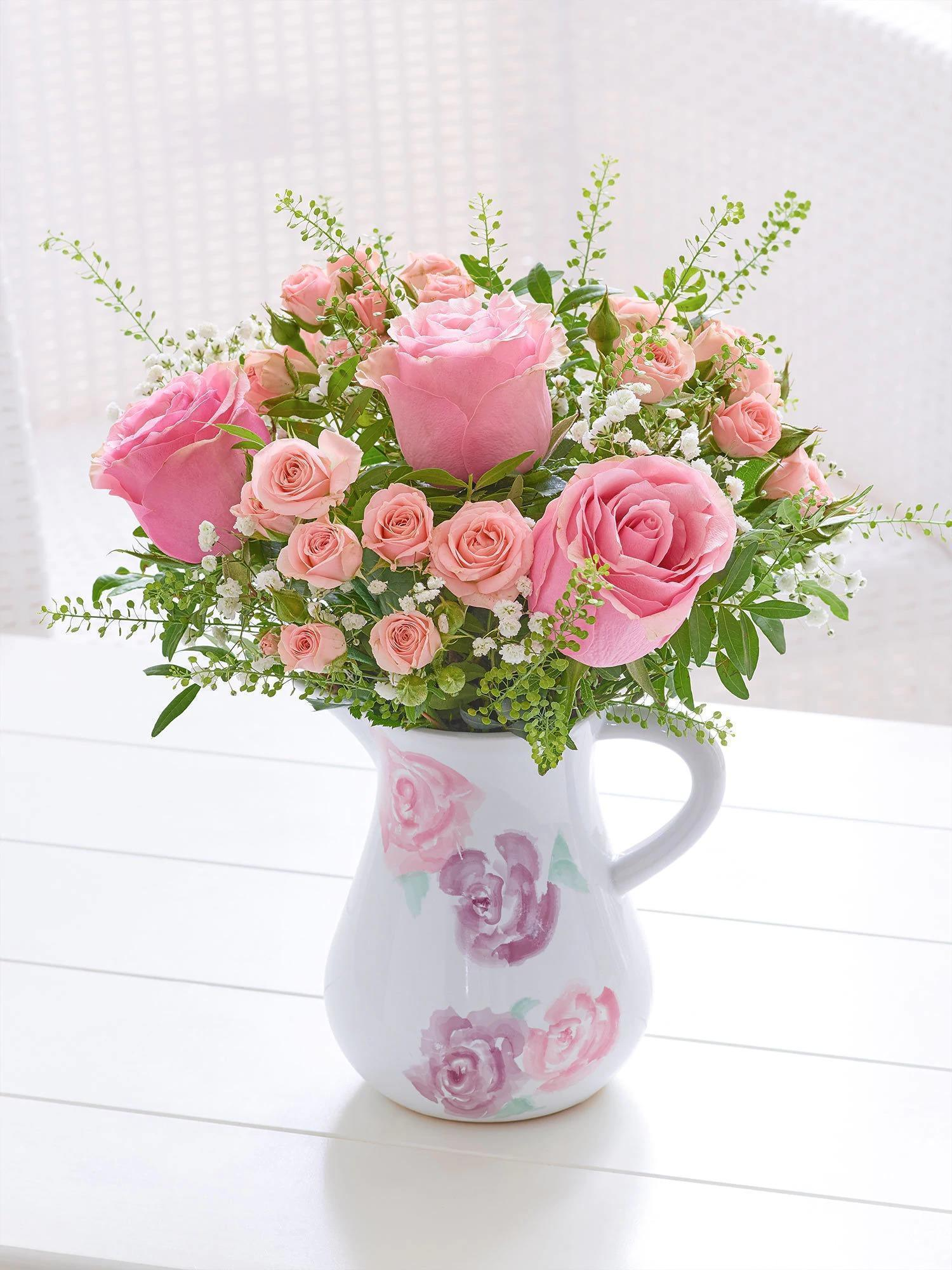 Image of Vintage Chic Rose Jug