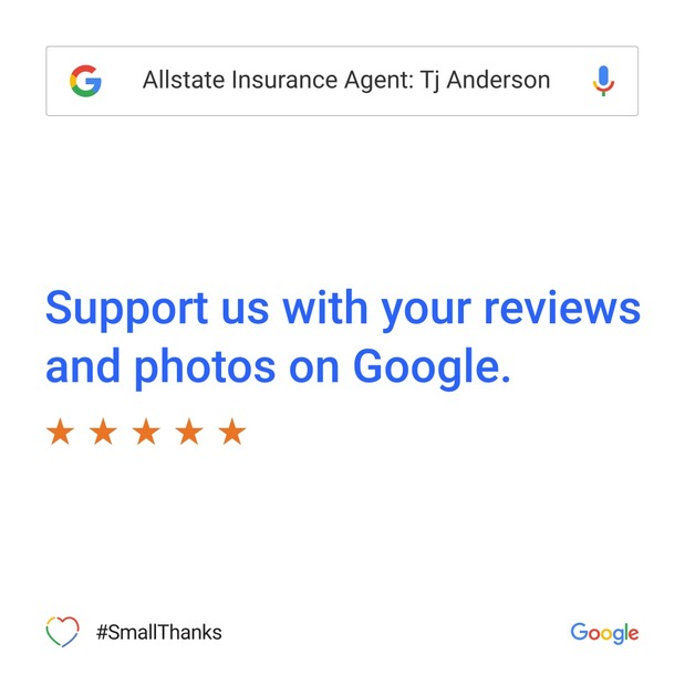 Tj Anderson - Small Thanks with Google